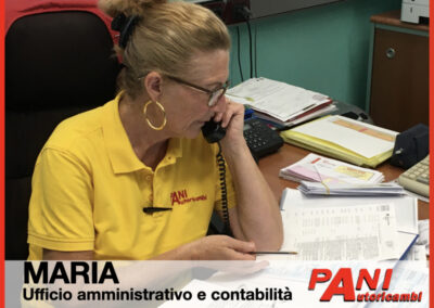 Maria, Pani Autoricambi