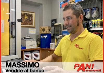 Massimo, Pani Autoricambi