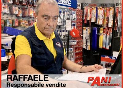 Raffaele, Pani Autoricambi