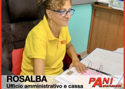 Rosalba, Pani Autoricambi